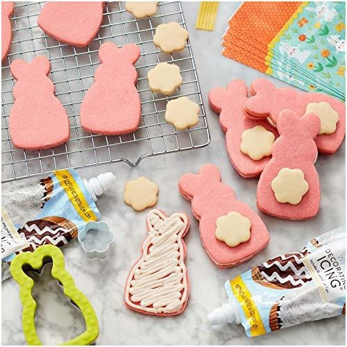 wilton easter bunny cookie set de decoracion y decoracion, 5