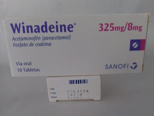 winadeine 325/8mg