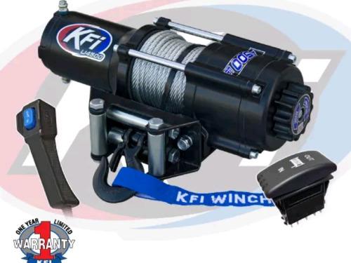winch 4500 libras rzr control remoto contra agua montaje