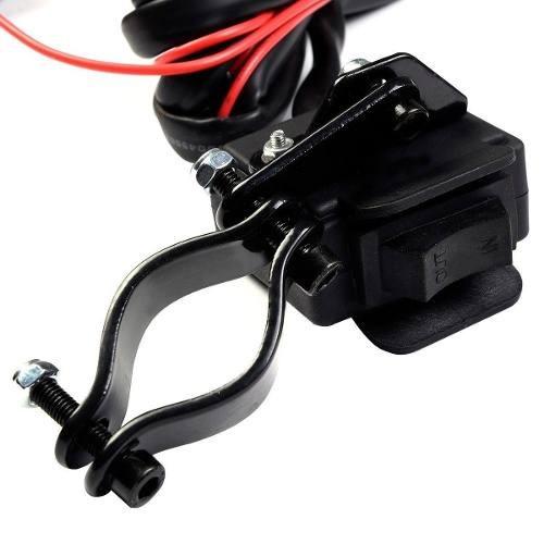 winch electrico 12v 3000 lbs c/ contro remoto atv vp0004m