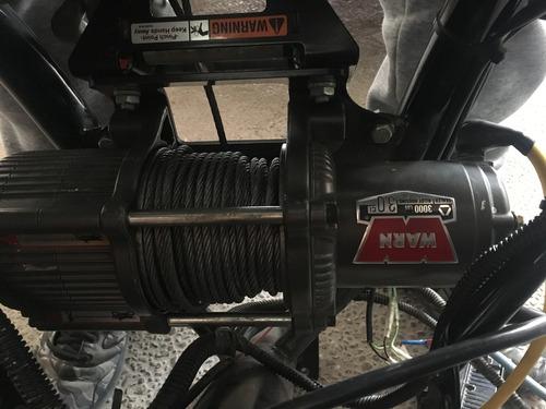 winch warn 3000 lb nuevo