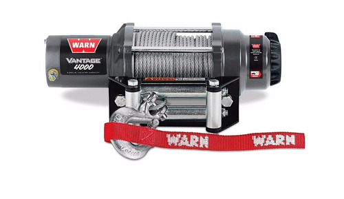 winch warn  vantage 4000 rzr can am polaris