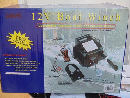 winche eléctrico 12 volts dw4