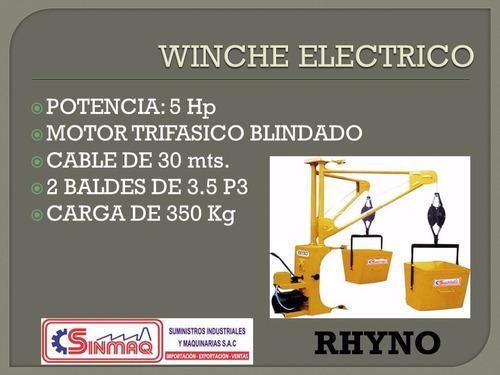 winche electrico