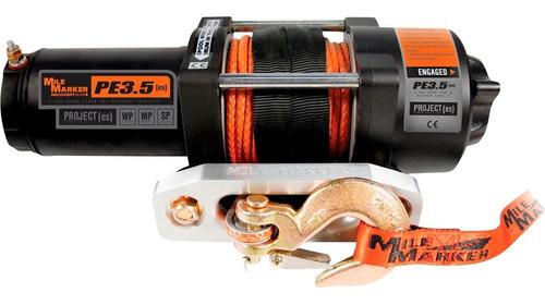 winche eléctrico atv de 12 voltios 3,500 lb. capacidad