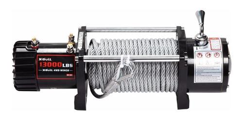 winche eléctrico carro 13000 lbs mts bada 12v 4x4 camion
