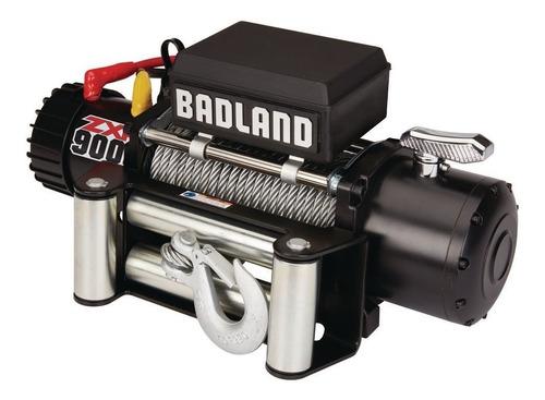 winche eléctrico para vehículos 9000 lb con freno automatico