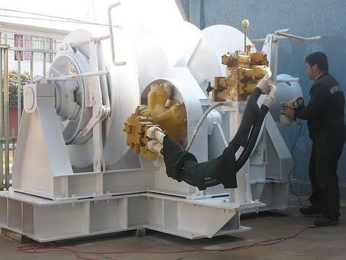 winche hidraulico 45 toneladas