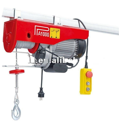winche tecle eléctrico  500 kg montacarga 110 v