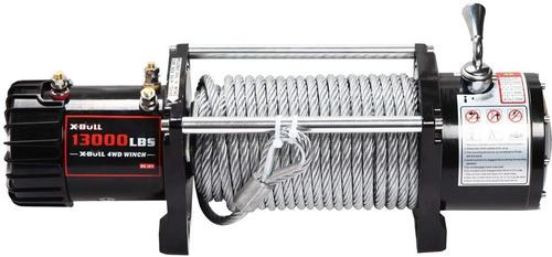 winche x-bull12v 13000lbs/5897kgs para 4 wd electri