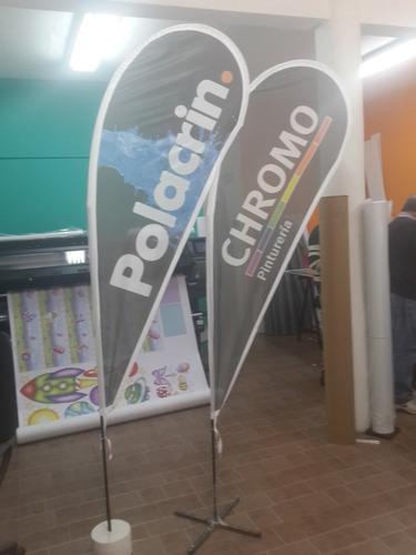 wind banner, fly banner,banderas pétalo gota, promociones