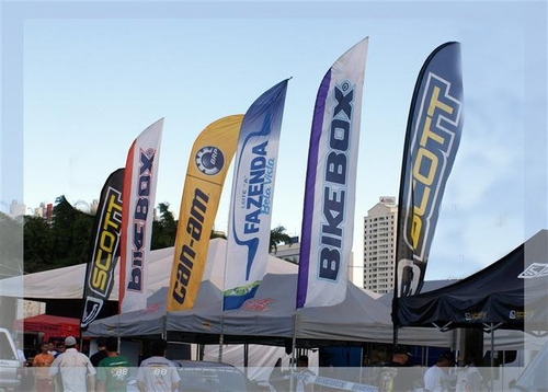 wind flag / wind banner / windfly / beach flag / vertical 4m
