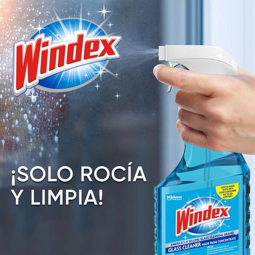 windex limpiador para vidríos - 2 pack refill