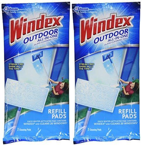windex. paños de repuesto windex todo en uno para