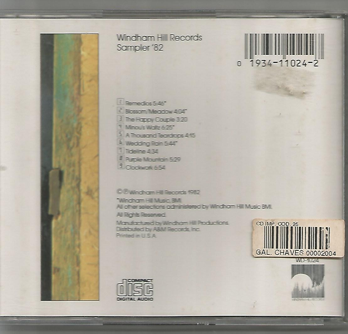 windham hill records sampler 82