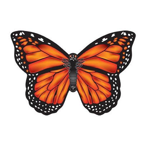 windnsun microkite mini mylar butterfly 47 monarch kite