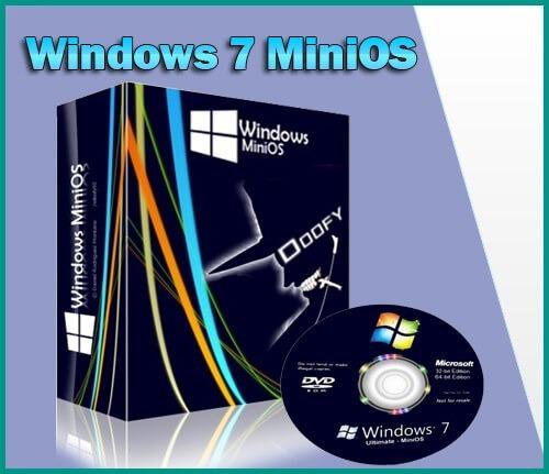 windos mini 7 os 32 y 64 bits super ligero
