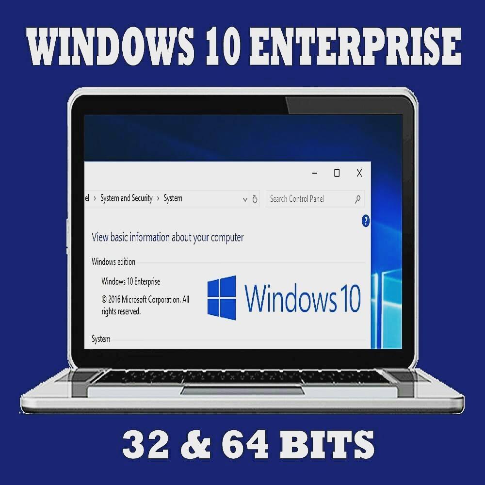 licencia windows 10 enterprise 64 bits