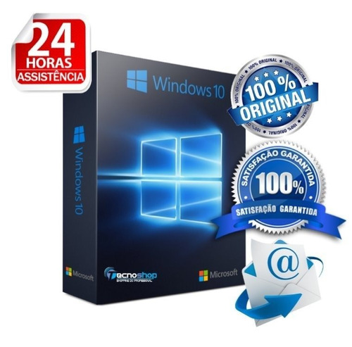 windows 10 pro chave key licença original envio na hora