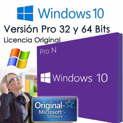 windows 10 pro n licencia original