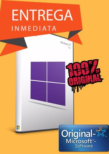 windows 10 pro original guia/enlaces/certificado