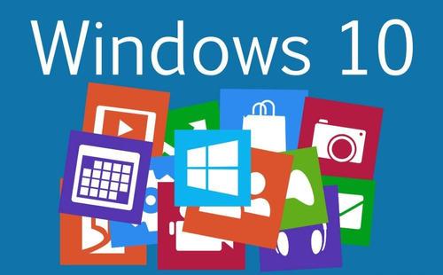 windows 10 pro y home, 32 y 64 bits, dvd de instalación