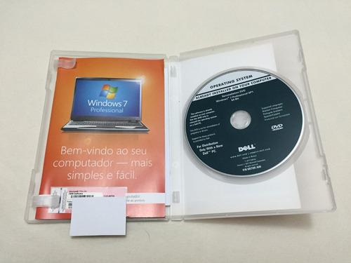 windows 7 pro 64 bits orig pt+chave ativação