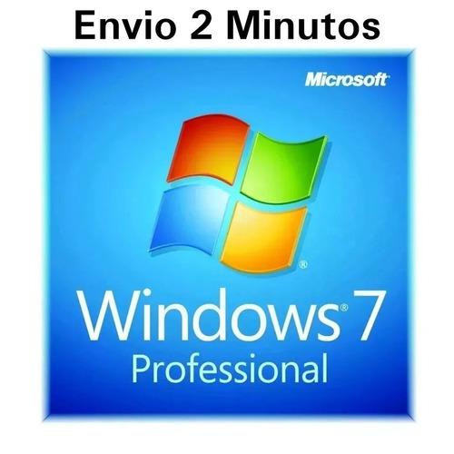 windows 7 professional chave licença original ativa online..