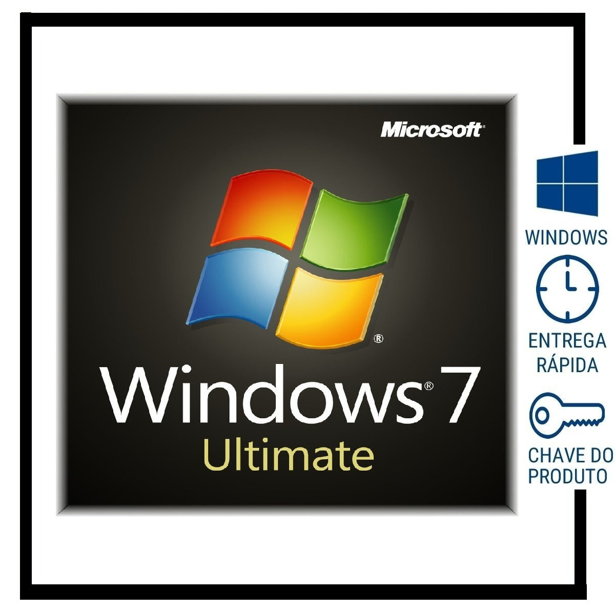 chave do windows 7 ultimate 64 bits
