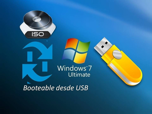 windows 7 ultimate booteable desde usb