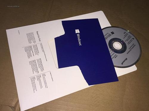windows 7 y 10 pro 32/64b original sellado con cd