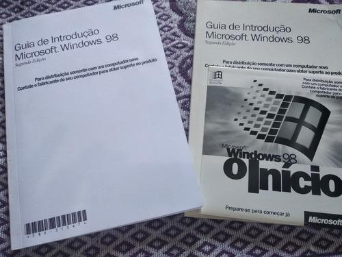 windows 98 original + manual bônus
