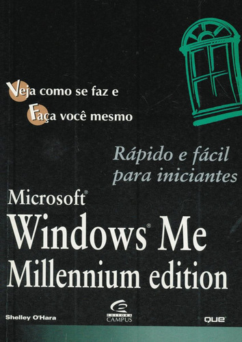 windows me - shelley o´hara - rápido e facil - no cartão