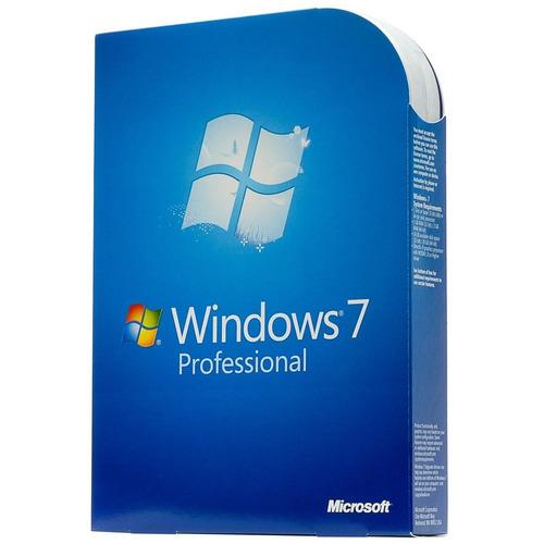 windows7 profesional 32 y 64 bit guía instalación / licencia