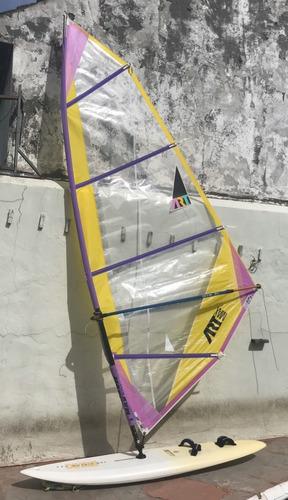 windsurf bic fun slalom 265 completo 2 velas