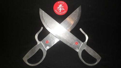 wing chun baat chaam dou p/ entrenamiento en aluminio macizo