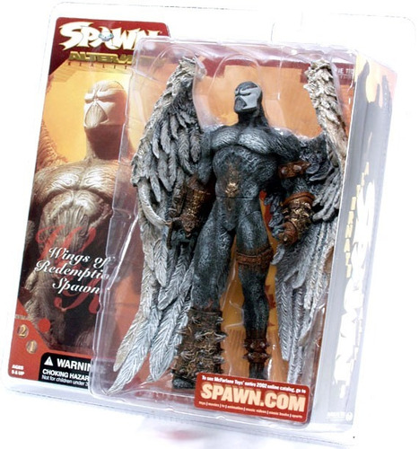 wings of redemption spawn 21 alternate mc farlane promocao