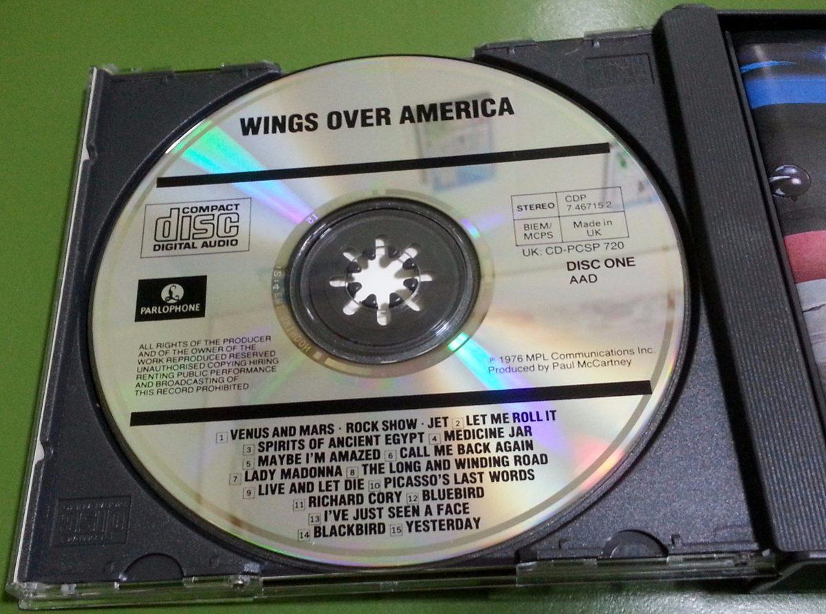 Wings Over America Cd Doble Fatbox Paul Mccartney Importado - $ 998,00