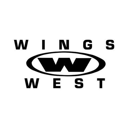 wings west - 4 adesivos - at-000417
