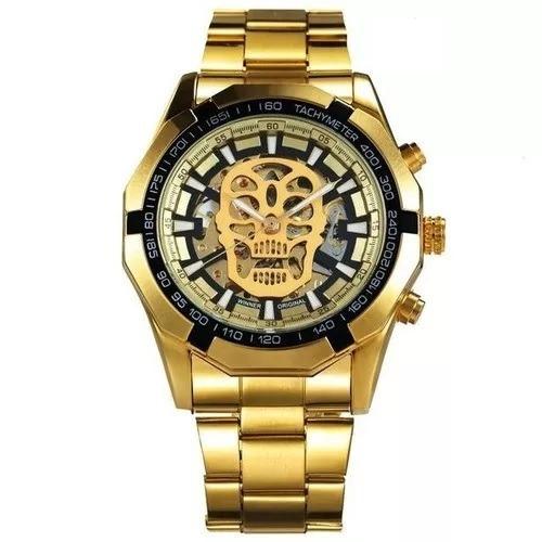d9e5ea28554 winner masculino relógio · relógio winner automático mecânico caveira skull  masculino · relógio winner masculino. Carregando zoom.
