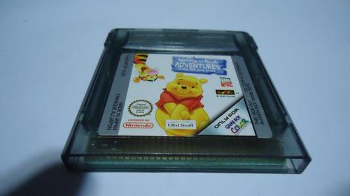winnie pooh adventures original p/ game boy color