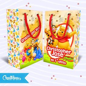 72bfb98f9 Bolsitas Winnie Pooh!! Para Cumpleaños - Souvenirs para Cumpleaños  Infantiles Bolsitas en Mercado Libre Argentina