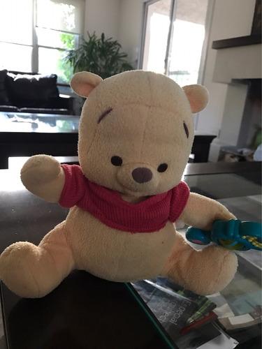 winnie pooh para bebés que canta y baila utiliza pilas