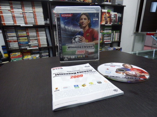winning eleven 2009 playstation 3 japon ps3 zonagamz