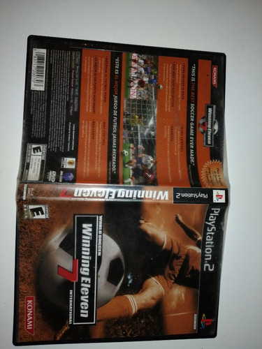 winning eleven 7 & 6  ps2 - the store game