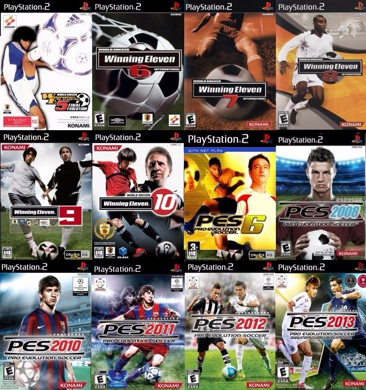911be26260 Winning Eleven 8 Ps2 (kit 12 Jogos Play Station 2 Pes - R  6
