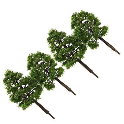 winomo 20 unids modelo árboles miniatura paisaje paisaje t