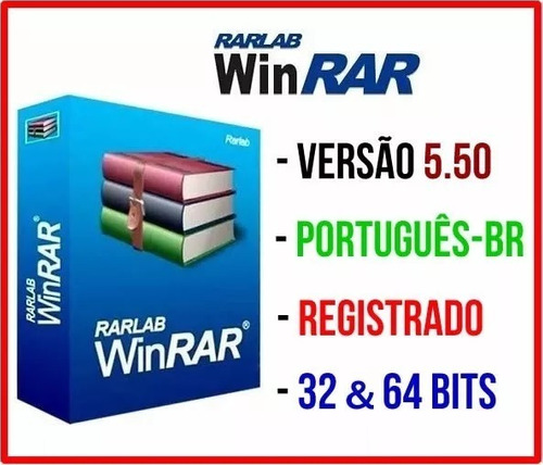 winrar 5.50 2018 português licenciado vitalício