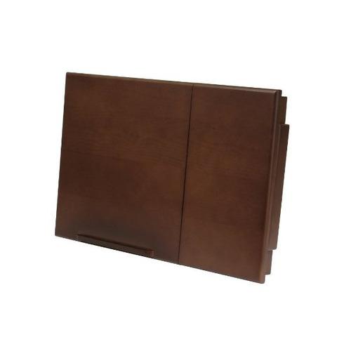 winsome wood alden lap desk, unión superior con cajón, patas