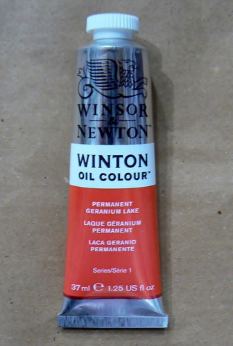 winsor & newton oleos permanent geranium lake 37ml